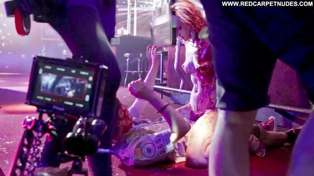 Elle Evans Scouts Guide To The Zombie Apocalypse  Topless Bikini
