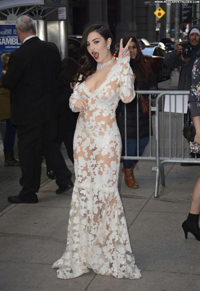 Charli Xcx New York Nipples Babe See Through Posing Hot Twitter