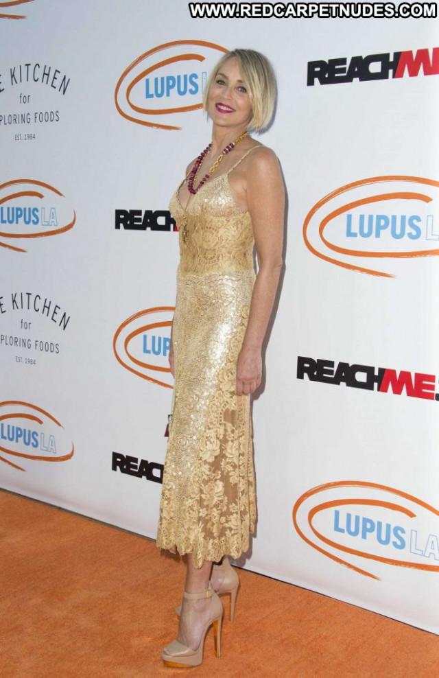 Sharon Stone Los Angeles Los Angeles Angel Celebrity Paparazzi
