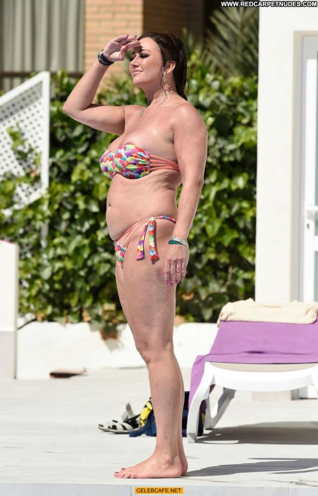 Lisa Appleton Paparazzi Shots Pool Babe Posing Hot Boobs Big Tits
