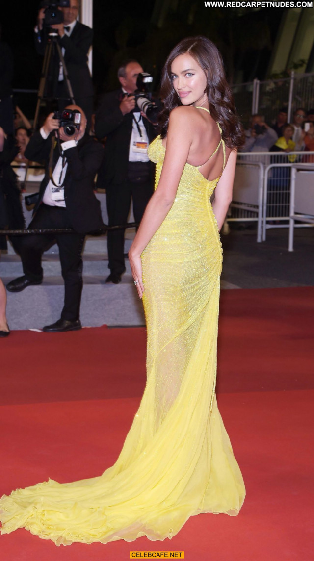 Irina Shayk Cannes Film Festival Cleavage Beautiful Babe Celebrity