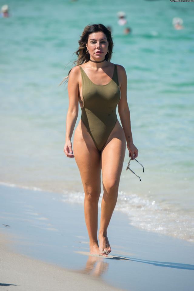 Liziane Gutierrez Miami Beach Model Sex Babe Sexy Big Tits Celebrity