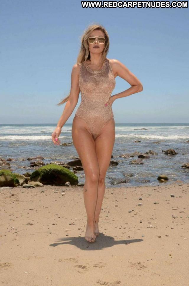 Photos Malibu Beach Posing Hot Swimsuit Beautiful Beach Celebrity