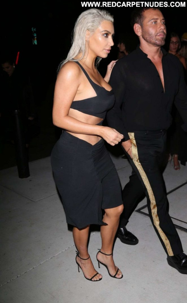 Kim Kardashian New York Babe Celebrity Paparazzi Posing Hot Beautiful