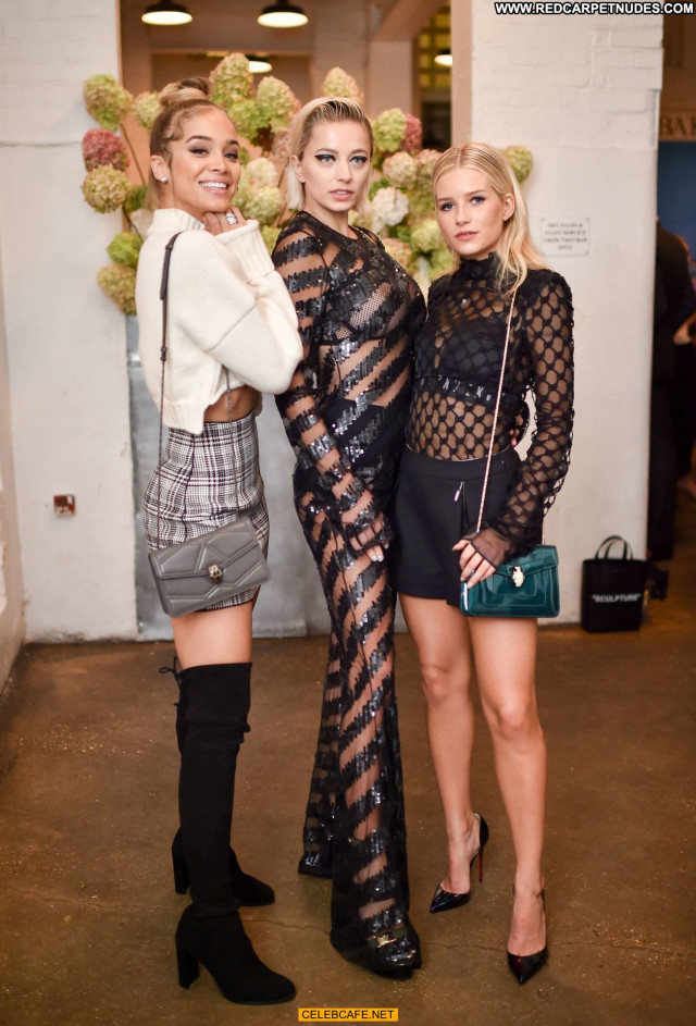 Caroline Vreeland No Source Fashion Celebrity See Through London