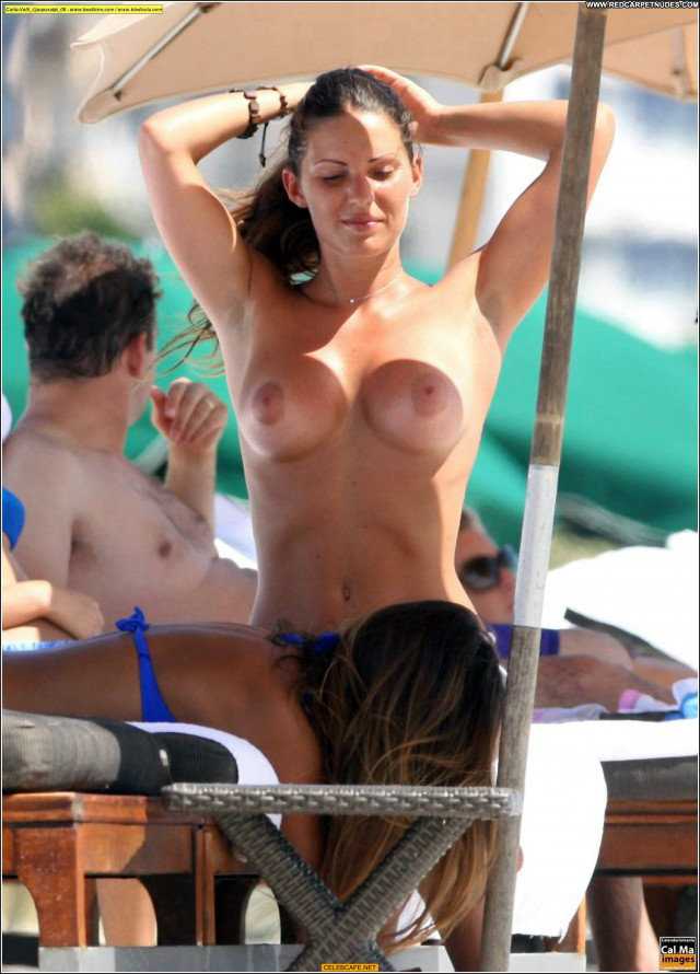Carla Velli No Source Posing Hot Beach Toples Beautiful Celebrity