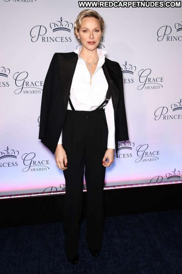 Charlene Of Monaco New York Celebrity Posing Hot Paparazzi New York