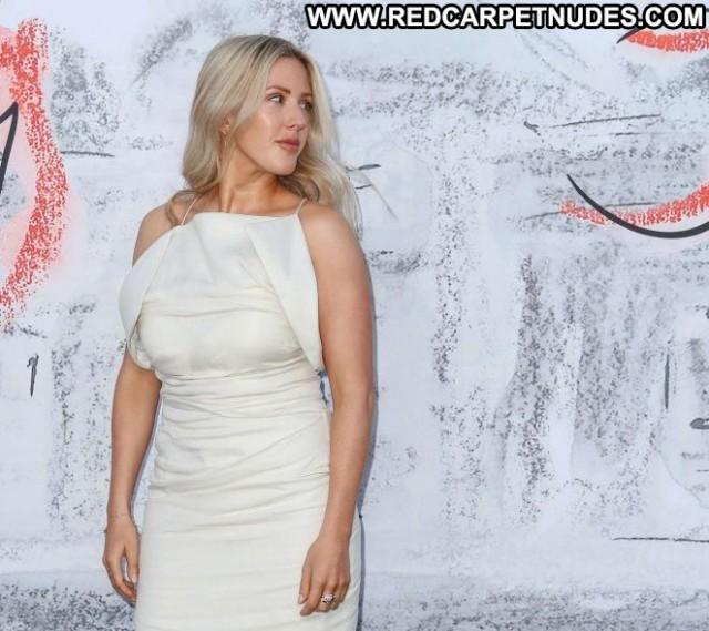 Ellie Goulding No Source Beautiful Party Summer Posing Hot Paparazzi