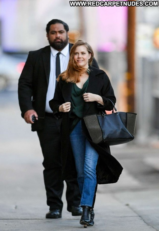 Amy Adams Jimmy Kimmel Live Paparazzi Posing Hot Celebrity Los