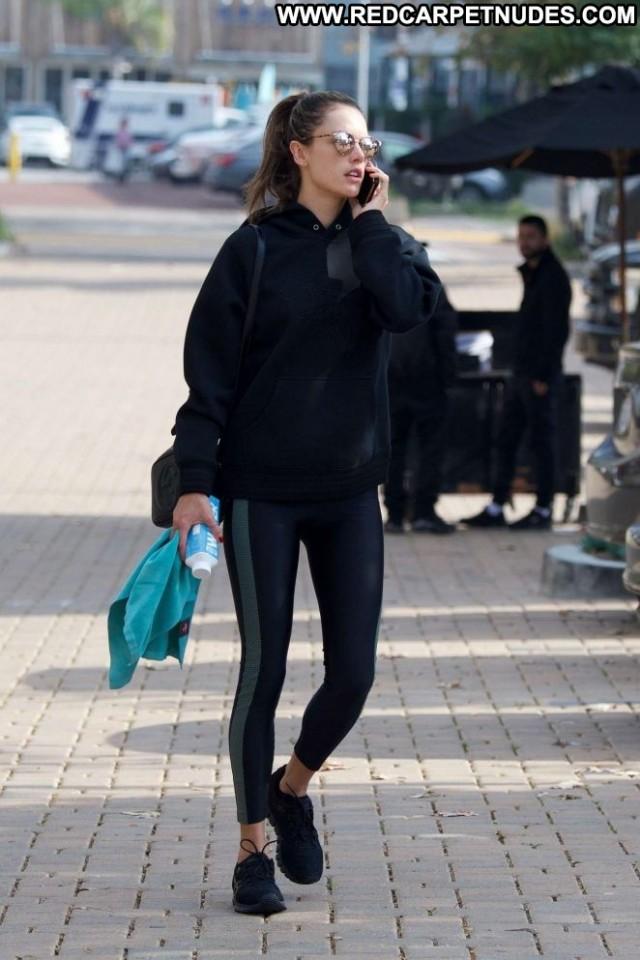 Alessandra Ambrosio No Source Gym Babe Celebrity Beautiful Mali
