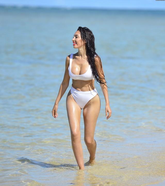 Farrah Abraham The Beach Bikini Beach Posing Hot Booty Big Tits