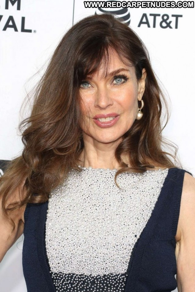 Carol Alt Tribeca Film Festival  Celebrity Beautiful Nyc Babe Posing