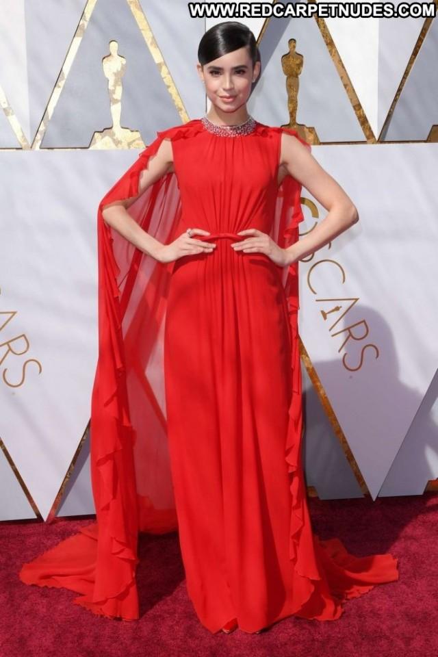 Sofia Carson Los Angeles Celebrity Car Beautiful Awards Babe Posing