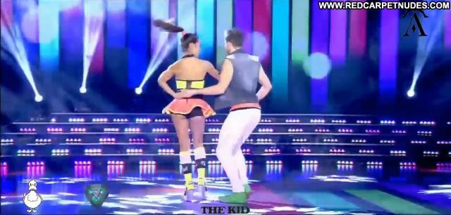 Lourdes Sanchez Tv Show Dancing Celebrity Sexy Beautiful Thong Babe