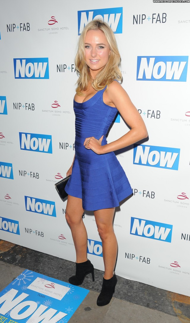 Kimberley Garner W Magazine London Celebrity Hotel Party High