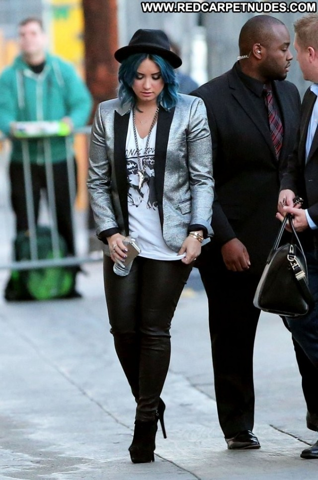 Demi Loavato Jimmy Kimmel Live Babe Hollywood High Resolution