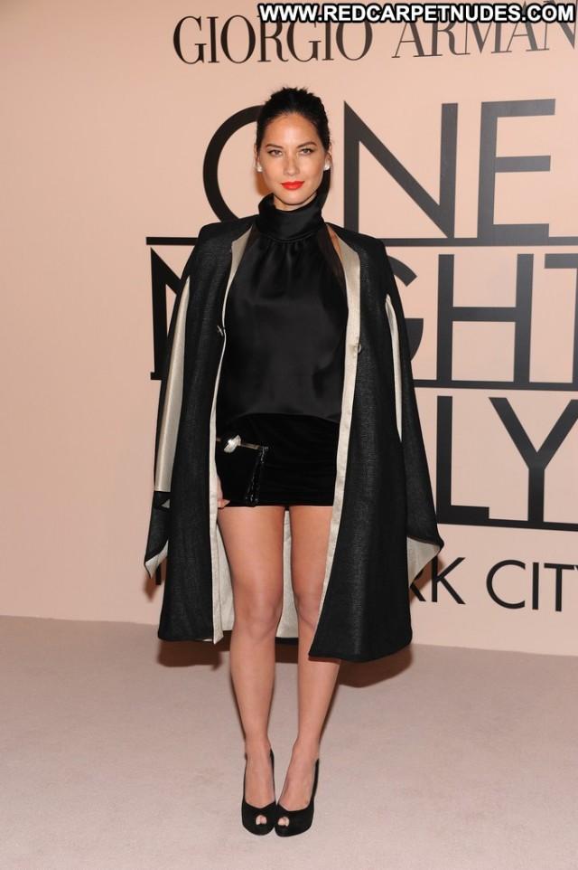 Olivia Munn No Source Celebrity Beautiful Nyc Posing Hot High