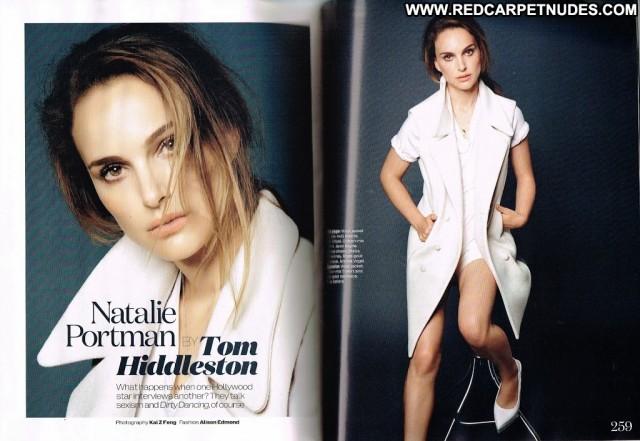 Natalie Portman Magazine Beautiful Posing Hot Uk High Resolution