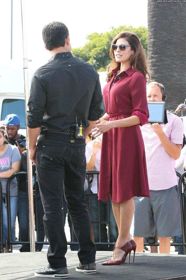 Eva Mendes Los Angeles Celebrity Posing Hot Los Angeles Beautiful