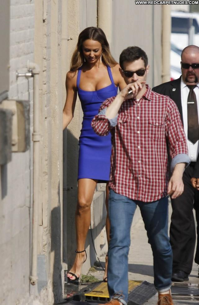 Stacy Keibler Jimmy Kimmel Live High Resolution Celebrity Babe Posing