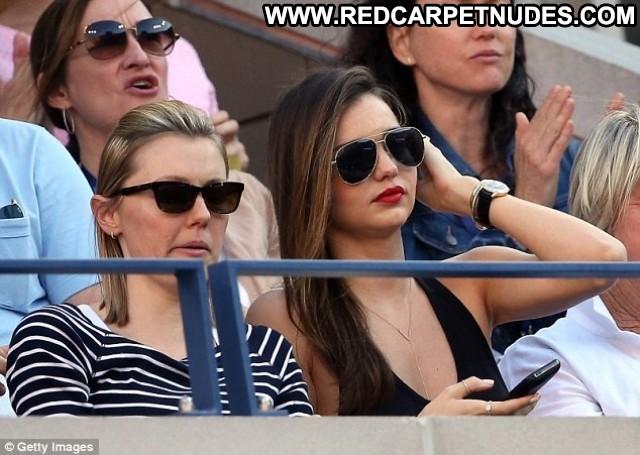 Miranda Kerr Us Open In Ny High Resolution Beautiful Posing Hot Babe