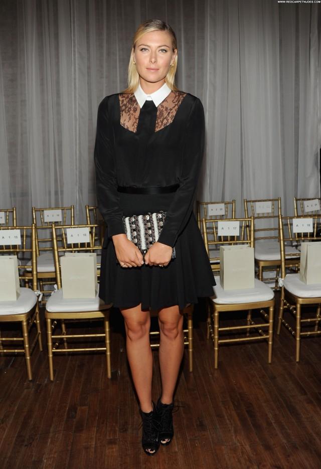 Maria Sharapova Fashion Show Babe High Resolution New York Posing Hot