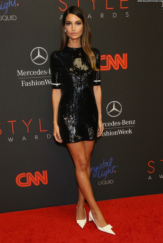 Lily Aldridge Nyc Awards High Resolution Beautiful Babe