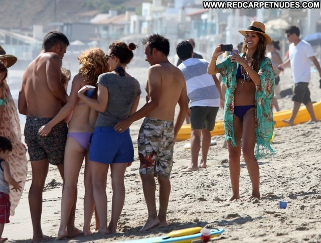 Jessica Alba No Source Babe Bikini Beautiful Posing Hot Malibu High
