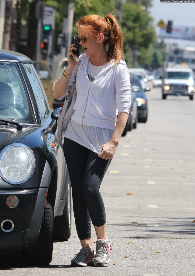 Isla Fisher Studio City Beautiful Posing Hot Celebrity Candids Babe