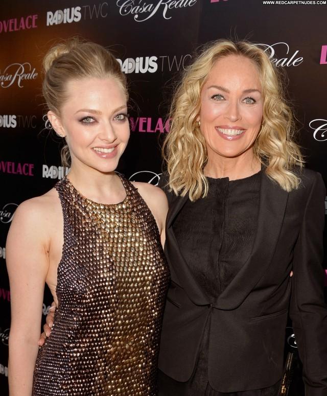 Sharon Stone Los Angeles High Resolution Beautiful Celebrity Posing