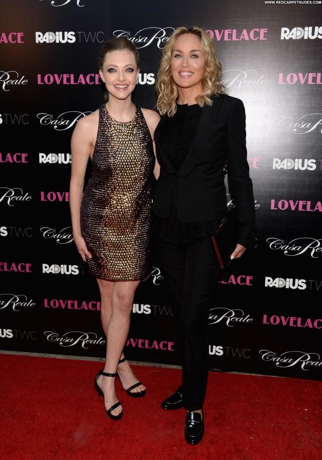 Sharon Stone Los Angeles Beautiful Celebrity Hollywood Babe Posing