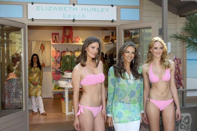 Elizabeth Hurley Elizabeth High Resolution Beach Beautiful Posing Hot