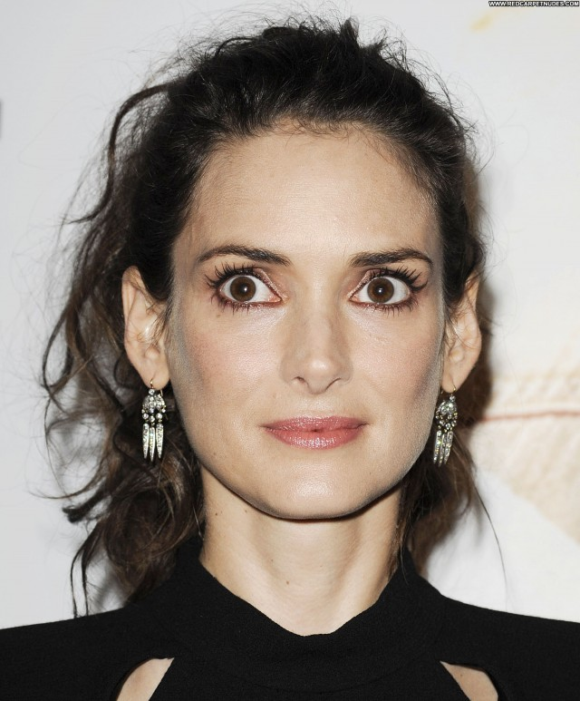 Winona Ryder Las Vegas Beautiful Celebrity Posing Hot Babe High