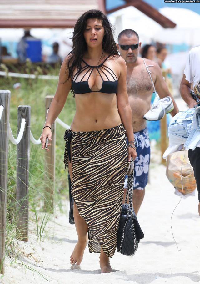 Brittny Gastineau South Beach Bikini Celebrity Posing Hot Candids