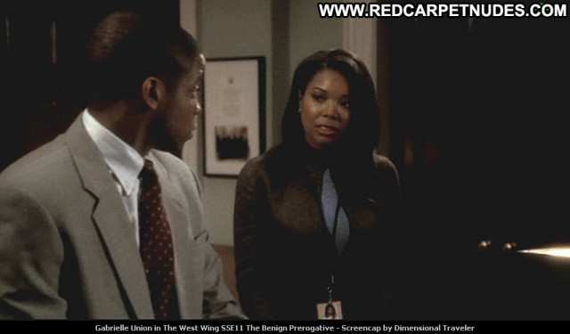 Gabrielle Union The West Wing Tv Series Posing Hot Celebrity