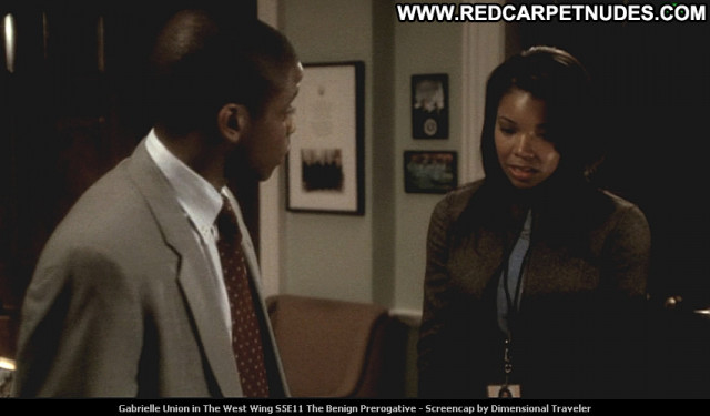 Gabrielle Union The West Wing Posing Hot Beautiful Celebrity Tv