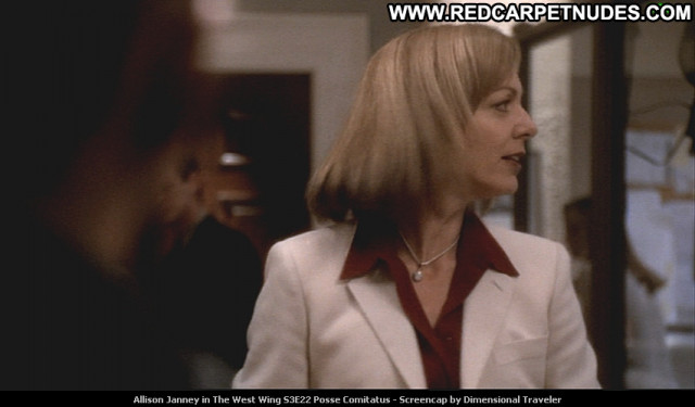 Allison Janney The West Wing Celebrity Posing Hot Tv Series Beautiful