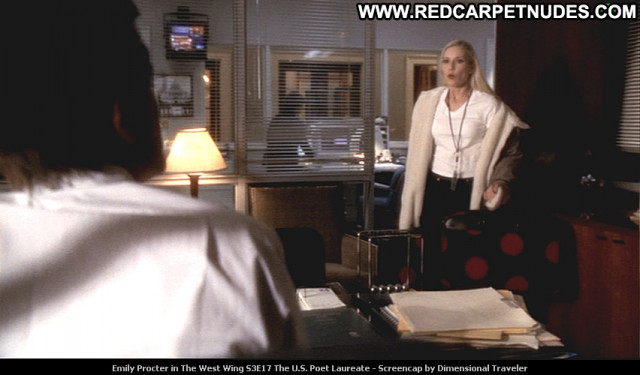 Emily Procter The West Wing Tv Series Beautiful Celebrity Posing Hot