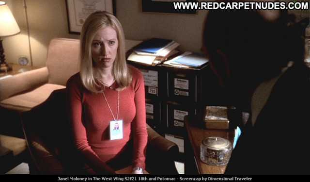 Janel Moloney The West Wing Beautiful Tv Series Posing Hot Babe