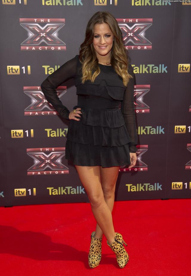 Caroline Flack The X Factor  London Celebrity Posing Hot Babe High