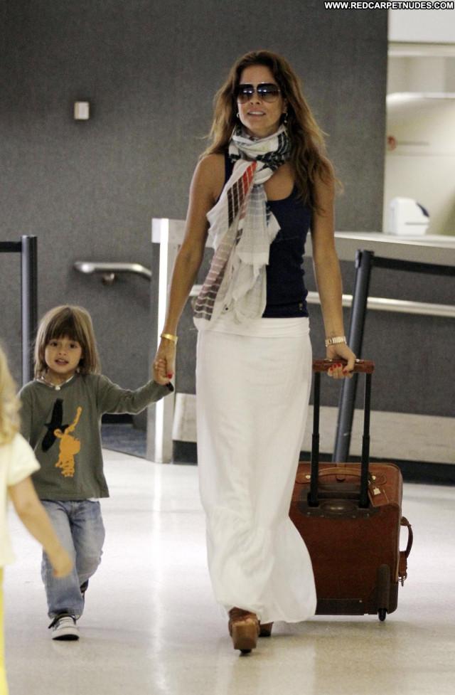 Brooke Burke Lax Airport Babe Beautiful Celebrity Posing Hot Los