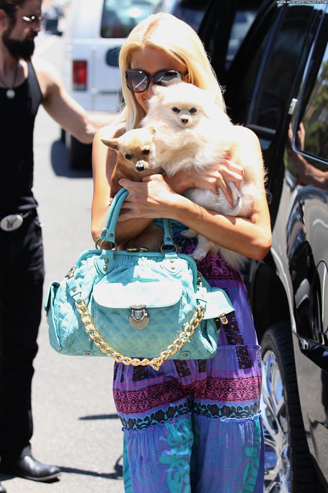Paris Hilton No Source Malibu Babe Celebrity Posing Hot High