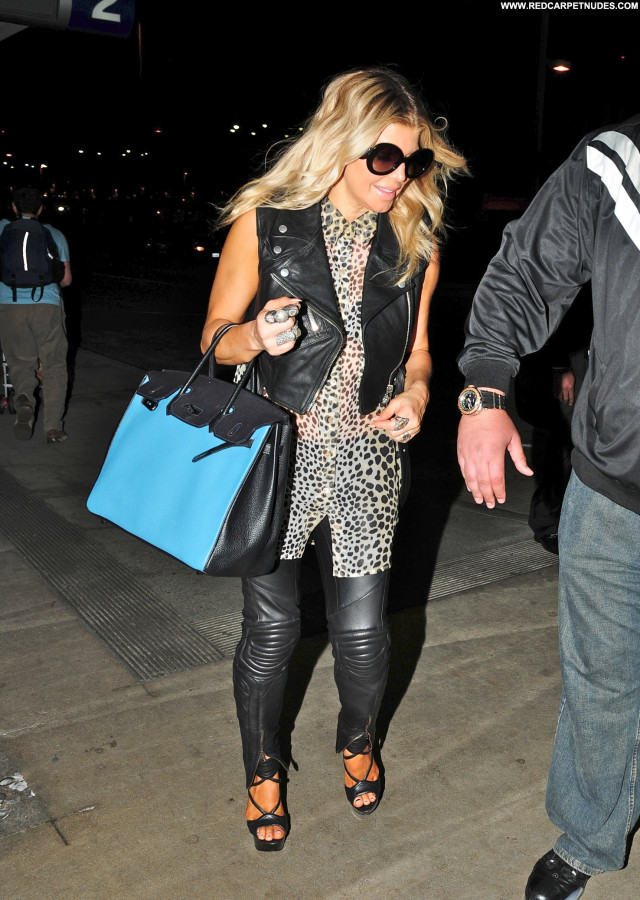 Fergie Lax Airport Lax Airport Beautiful Celebrity Posing Hot High