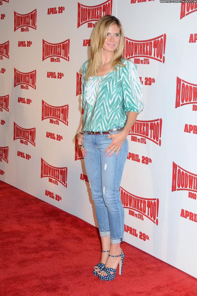 Heidi Klum Los Angeles Celebrity Beautiful Babe High Resolution
