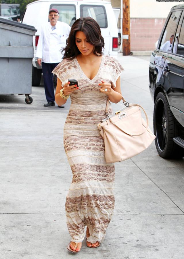 Kim Kardashian Beverly Hills Posing Hot Beautiful High Resolution