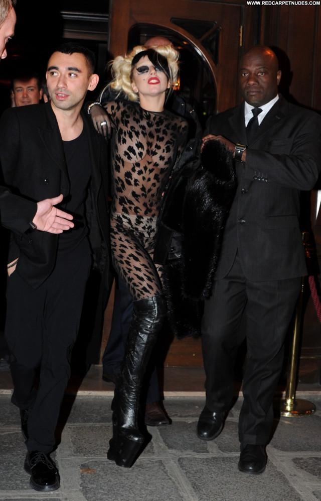 Lady Gaga Ready To Wear  Celebrity Paris High Resolution Beautiful