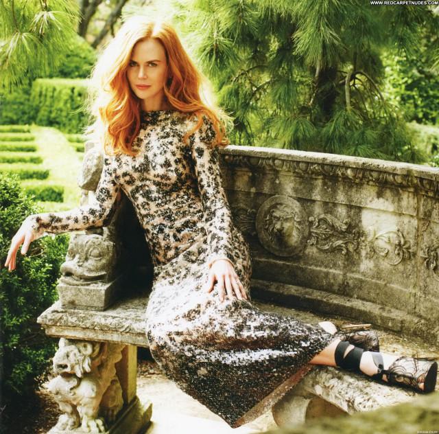 Nicole Kidman Harpers Bazaar Babe Celebrity Beautiful Magazine Posing