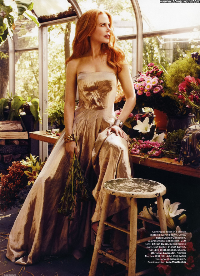 Nicole Kidman Harpers Bazaar Celebrity Babe Magazine Beautiful Posing