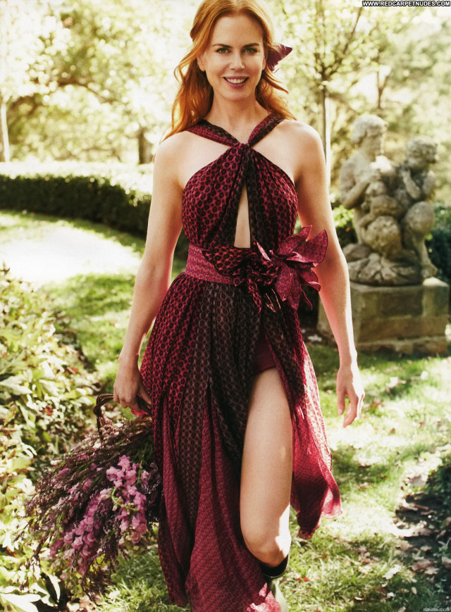 Nicole Kidman Harpers Bazaar Magazine Beautiful Posing Hot Celebrity