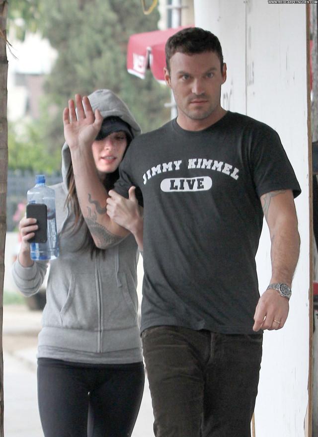 Megan Fox Los Angeles Beautiful Celebrity High Resolution Babe Posing